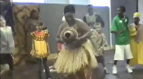 african dancing